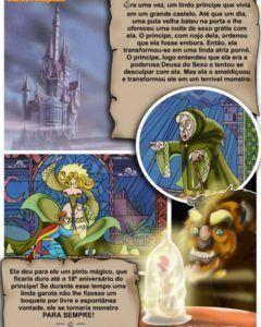 A Bela e a fera numa história de muita orgia