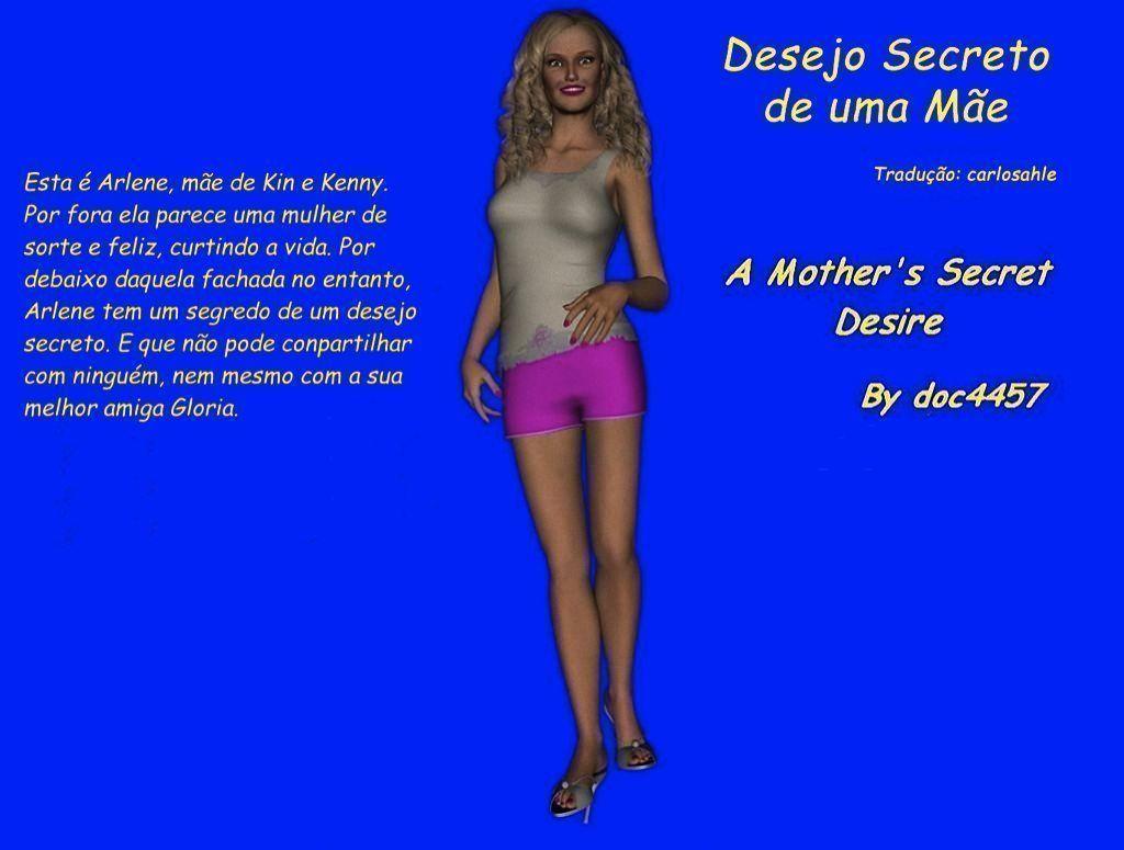 Desejo secreto de uma mãe toda gostosinha