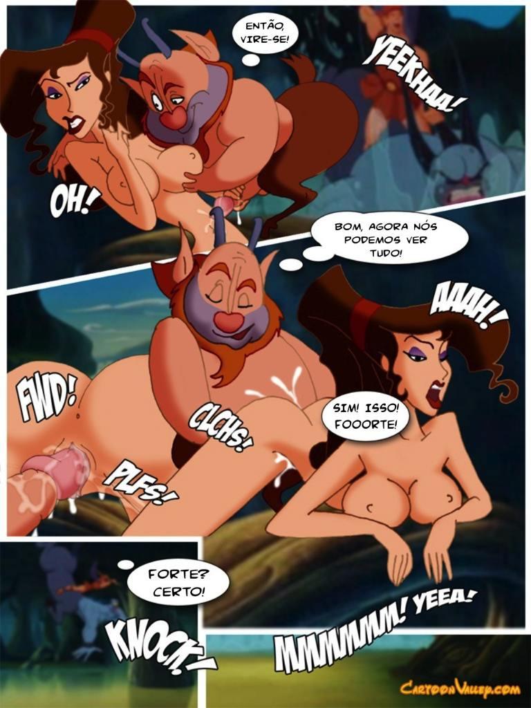 Hercules hentai e sexo 2 - disney porno
