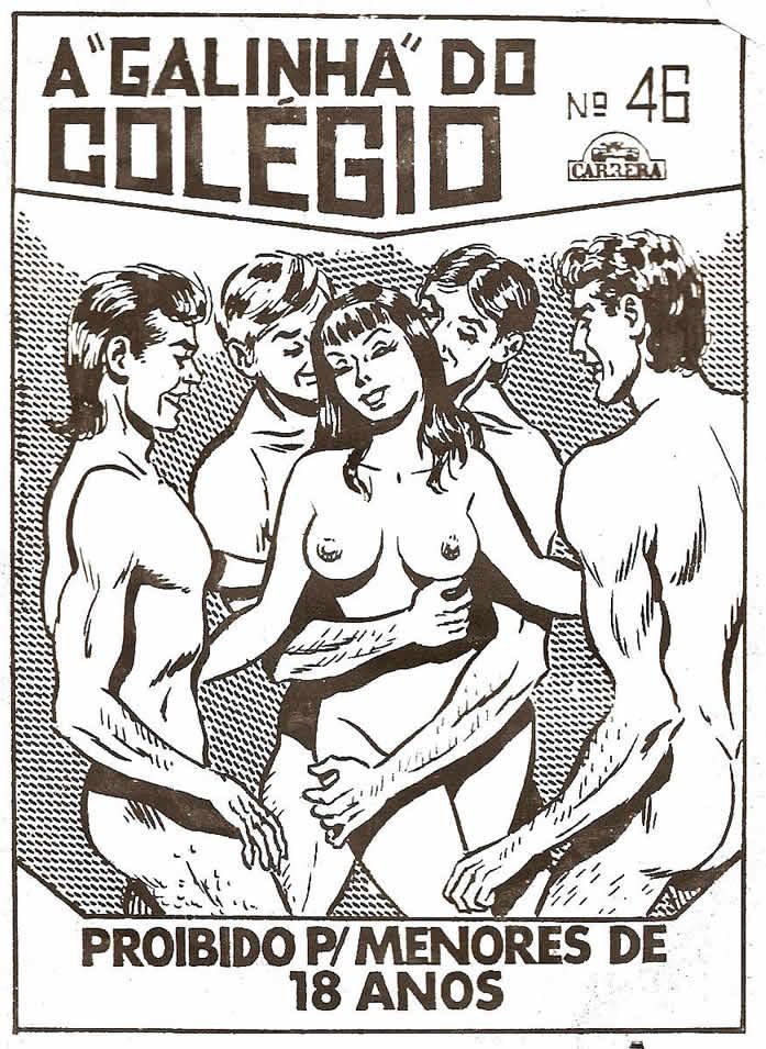galinha num colegio – quadrinhos eroticos