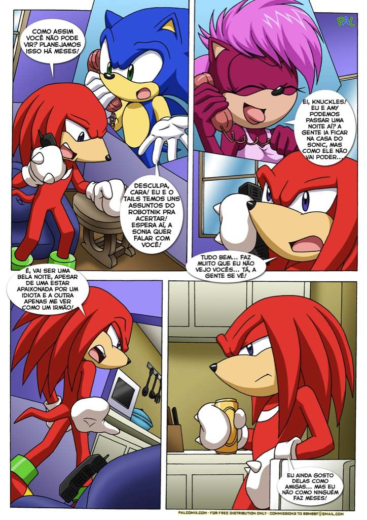 knuckles a maquina - hentai do sonic