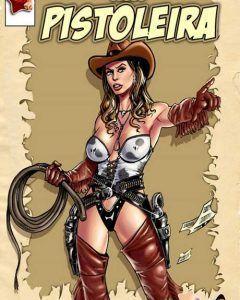 pistoleira - quadrinhos eroticos