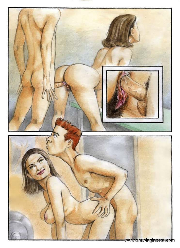 treinamento sexual de mãe e filho