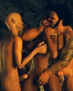 A escrava - quadrinhos eroticos
