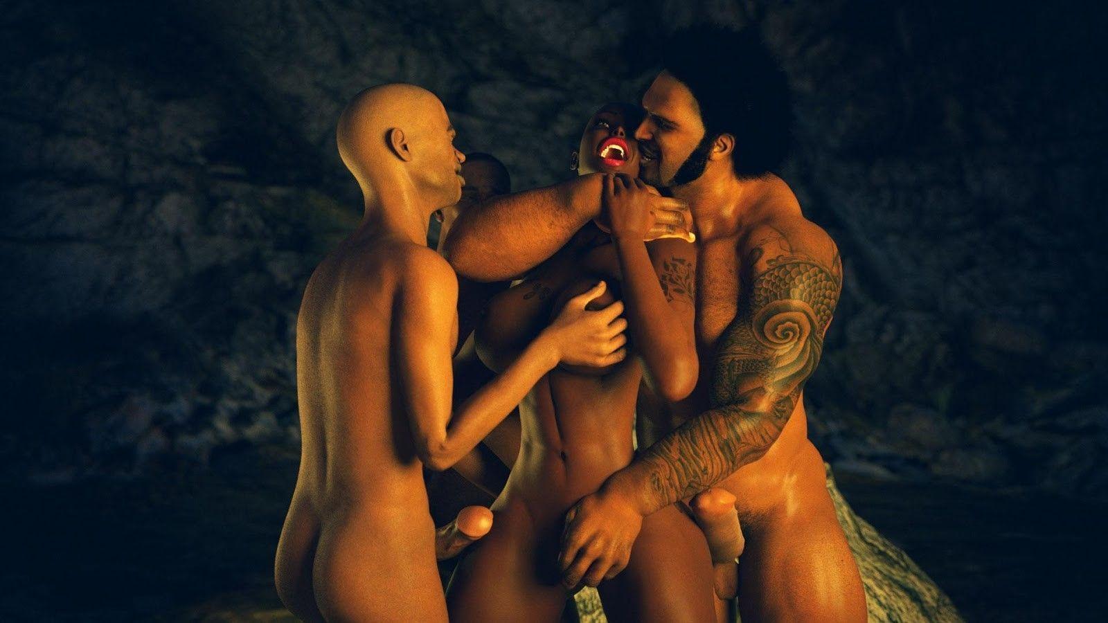 A escrava – quadrinhos eroticos