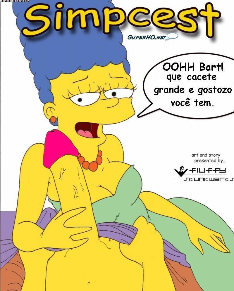 Simpcest - quadrinhos eroticos do simpsons