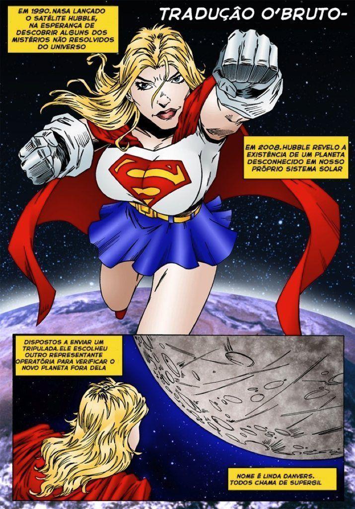 Supergirl - quadrinhos eroticos