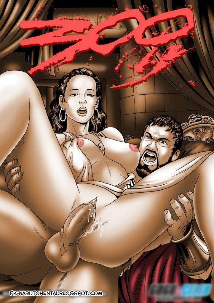 300 - quadrinho erótico
