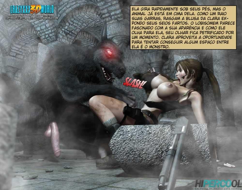 Clara ravens 2 - hentai 3d