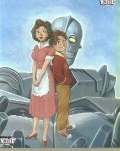 Iron giant 2 - quadrinhos milftoon