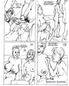 Praia de nudismo - hqs eroticas