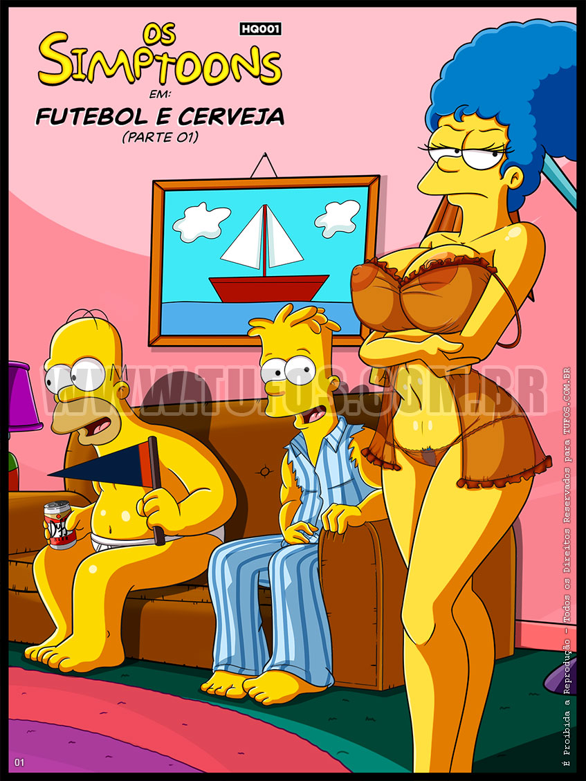 Futebol e Cerveja - Quadrinho Erótico