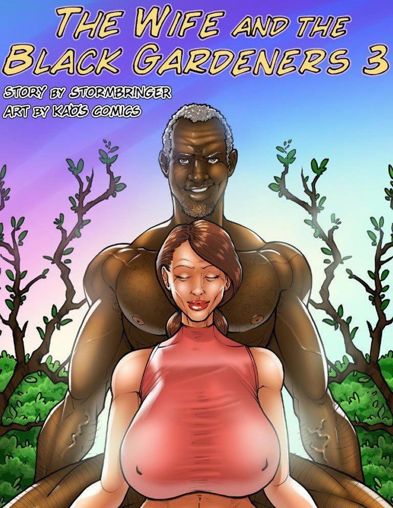A esposa e o jardineiro negão 3 - Completa