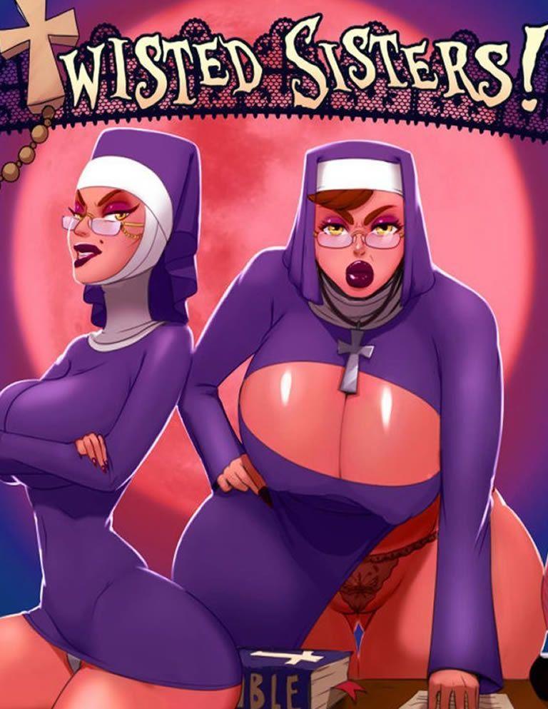 As freiras safadas na madrugada