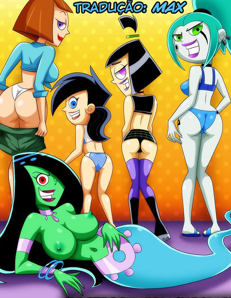 Danny Phantom e as gatinhas