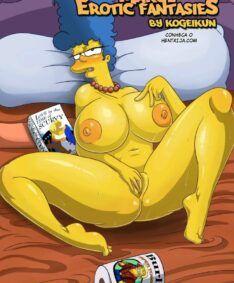 Simpsons hentai:Enfiando ate o talo