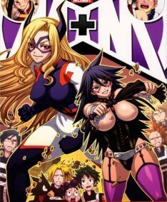Boku no Hero Hentai: MidNight e Mt.Lady dando para toda turma