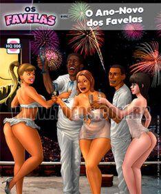 O Ano-Novo dos Favelas